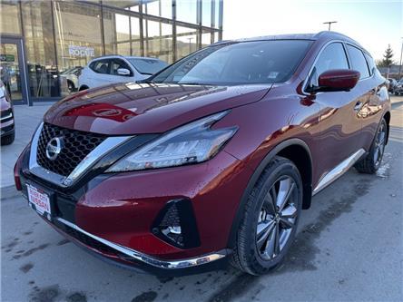 2021 Nissan Murano Platinum (Stk: T21030) in Kamloops - Image 1 of 29