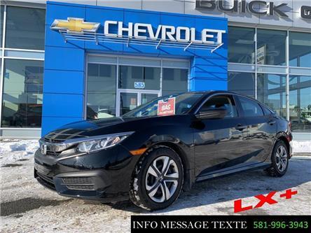 2018 Honda Civic LX (Stk: X8295) in Ste-Marie - Image 1 of 24