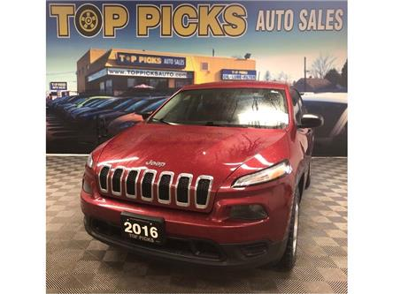 2016 Jeep Cherokee Sport (Stk: 334034) in NORTH BAY - Image 1 of 26