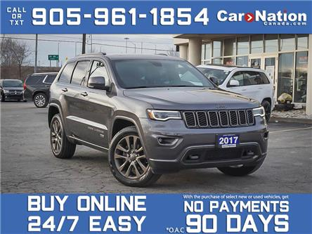 2017 Jeep Grand Cherokee 4WD 4dr Limited 75th Anniversary| SUNROOF| NAVI| (Stk: M028A) in Burlington - Image 1 of 31