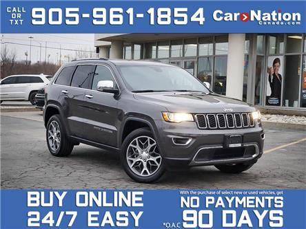 2020 Jeep Grand Cherokee Limited 4x4| COMPANY DEMO| NAVI| SUNROOF| LEATHER| (Stk: NOU-L792) in Burlington - Image 1 of 30