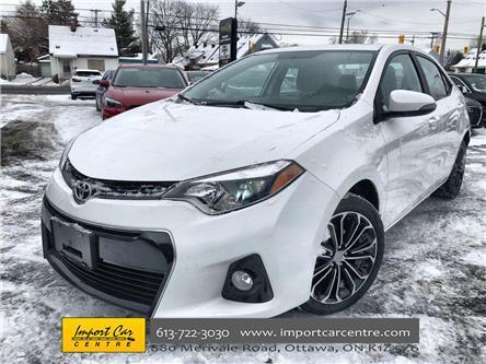 2016 Toyota Corolla S (Stk: 649371) in Ottawa - Image 1 of 23