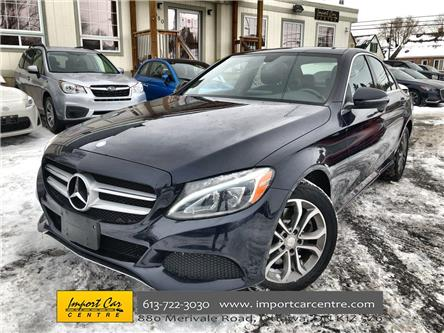 2017 Mercedes-Benz C-Class Base (Stk: 183494) in Ottawa - Image 1 of 26