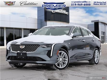 2021 Cadillac CT4 Premium Luxury (Stk: 210394) in Windsor - Image 1 of 28