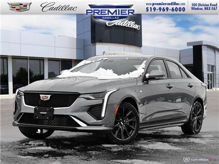 2021 Cadillac CT4 Sport (Stk: 210381) in Windsor - Image 1 of 28