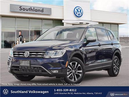 2021 Volkswagen Tiguan United (Stk: M21066) in Medicine Hat - Image 1 of 23