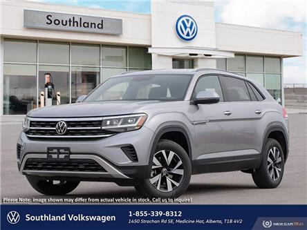 2020 Volkswagen Atlas Cross Sport 2.0 TSI Trendline (Stk: 2003036) in Medicine Hat - Image 1 of 23