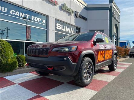 2021 Jeep Cherokee Trailhawk (Stk: S1224) in Fredericton - Image 1 of 25