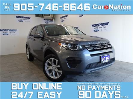2016 Land Rover Discovery Sport SE | AWD | LEATHER | PANO ROOF | NAV (Stk: P6192) in Brantford - Image 1 of 25