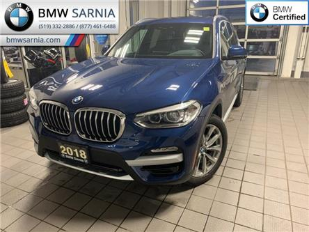 2018 BMW X3 xDrive30i (Stk: XU382) in Sarnia - Image 1 of 10