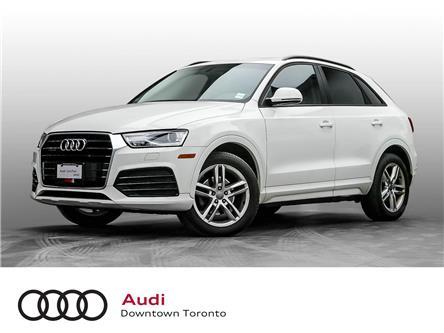 2018 Audi Q3 2.0T Komfort (Stk: P4162) in Toronto - Image 1 of 10
