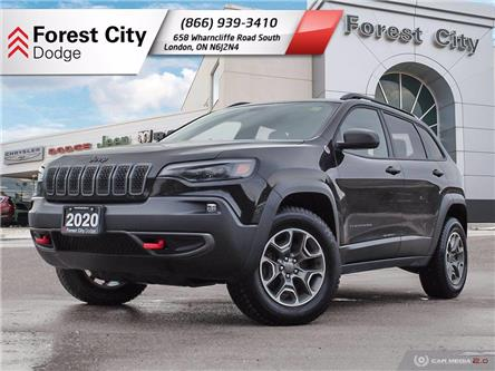 2020 Jeep Cherokee Trailhawk (Stk: DE0044) in Sudbury - Image 1 of 30