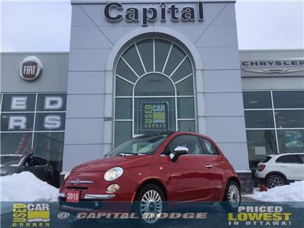 2015 Fiat 500 Lounge (Stk: K00997D) in Kanata - Image 1 of 19