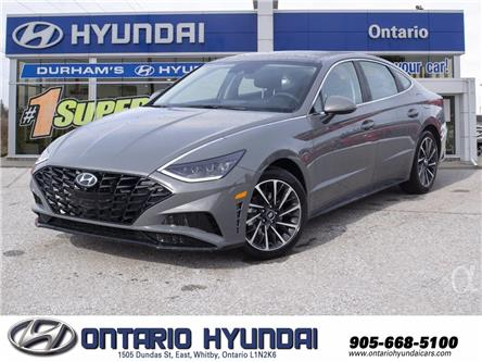 2021 Hyundai Sonata Luxury (Stk: 104817) in Whitby - Image 1 of 22