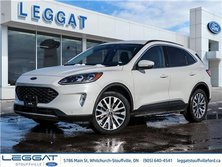 2020 Ford Escape Titanium Hybrid (Stk: DR003) in Stouffville - Image 1 of 29