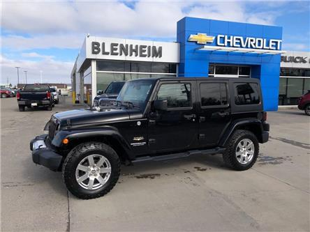 2014 Jeep Wrangler Unlimited Sahara (Stk: M097A) in Blenheim - Image 1 of 18
