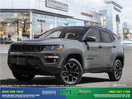 2021 Jeep Compass Trailhawk (Stk: 21375) in Brampton - Image 1 of 23