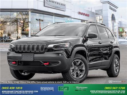 2021 Jeep Cherokee Trailhawk (Stk: 21347) in Brampton - Image 1 of 23