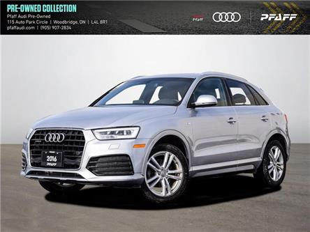 2016 Audi Q3 2.0T Technik (Stk: C7941A) in Woodbridge - Image 1 of 18