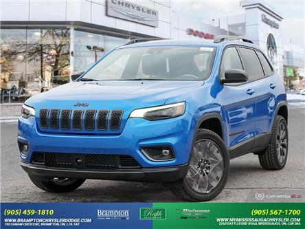 2021 Jeep Cherokee North (Stk: 21227) in Brampton - Image 1 of 30