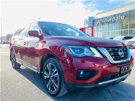 2018 Nissan Pathfinder Platinum (Stk: N1571A) in Thornhill - Image 1 of 23