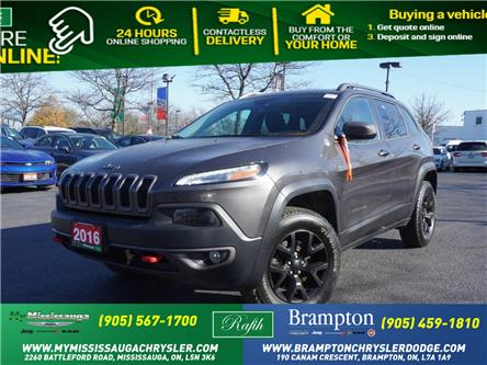 2016 Jeep Cherokee Trailhawk (Stk: 1227) in Mississauga - Image 1 of 20
