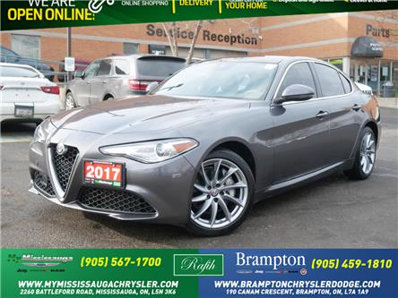 2017 Alfa Romeo Giulia Base (Stk: 1281) in Mississauga - Image 1 of 23