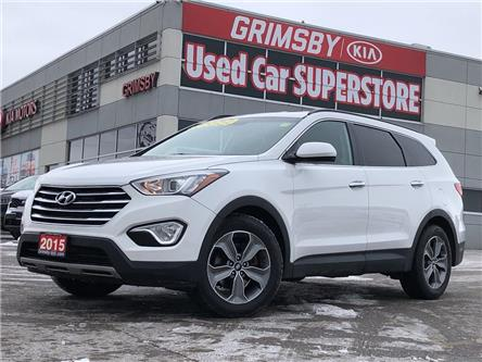 2015 Hyundai Santa Fe XL FWD, 6 passenger, clean carfax, loaded (Stk: U1845A) in Grimsby - Image 1 of 21