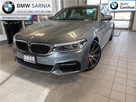 2017 BMW 540i xDrive (Stk: BU833) in Sarnia - Image 1 of 10