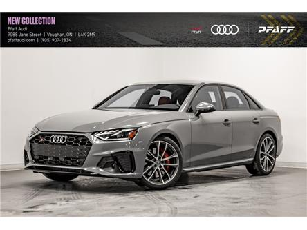 2021 Audi S4 3.0T Technik (Stk: T19214) in Vaughan - Image 1 of 21