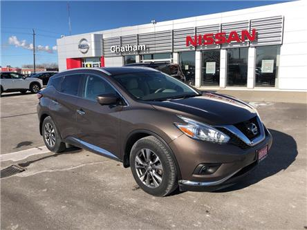 2016 Nissan Murano SL (Stk: T9404A) in Chatham - Image 1 of 22