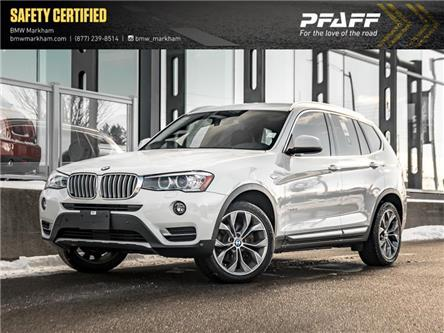 2017 BMW X3 xDrive28i (Stk: O13783) in Markham - Image 1 of 22