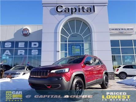 2019 Jeep Cherokee Trailhawk (Stk: P3083) in Kanata - Image 1 of 26