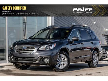 2017 Subaru Outback 2.5i Touring (Stk: SU0290) in Guelph - Image 1 of 22