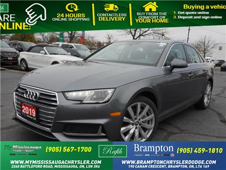 2019 Audi A4 45 Komfort (Stk: 1206) in Mississauga - Image 1 of 25