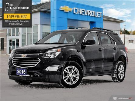 2016 Chevrolet Equinox LT (Stk: T1100A) in Kincardine - Image 1 of 27