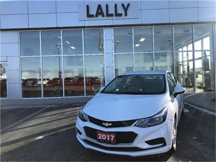 2017 Chevrolet Cruze LT Turbo Rev Cam | Rem Start | Heated Seats (Stk: R00524) in Tilbury - Image 1 of 20