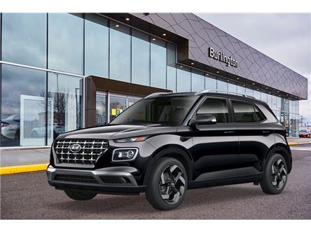2021 Hyundai Venue Ultimate w/Black Interior (IVT) (Stk: N2801) in Burlington - Image 1 of 3