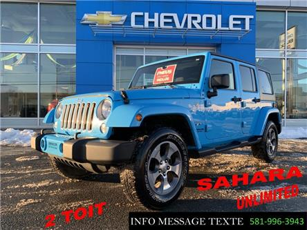 2017 Jeep Wrangler Unlimited Sahara (Stk: 20314B) in Ste-Marie - Image 1 of 28