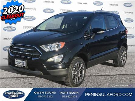 2020 Ford EcoSport Titanium (Stk: 20EC05) in Owen Sound - Image 1 of 25