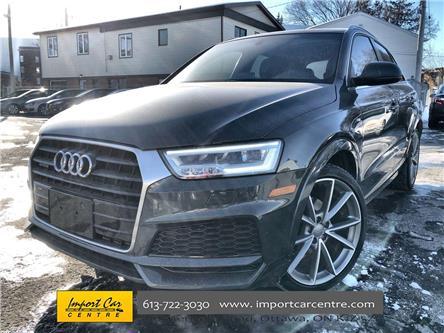 2018 Audi Q3 2.0T Technik (Stk: 014020) in Ottawa - Image 1 of 26