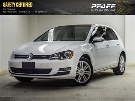 2017 Volkswagen Golf 1.8 TSI Highline (Stk: A13641A) in Newmarket - Image 1 of 21