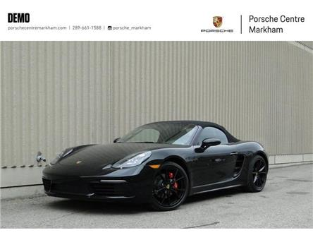 2020 Porsche 718 Boxster S (Stk: PN0030D) in Markham - Image 1 of 17