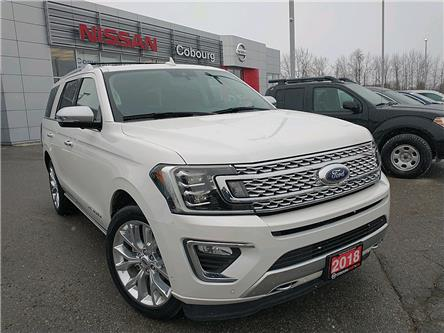 2018 Ford Expedition Platinum (Stk: CJEA30775A) in Cobourg - Image 1 of 25