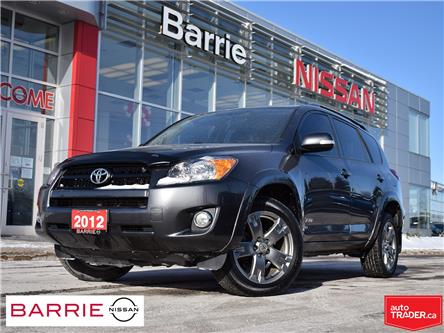 2012 Toyota RAV4 Sport (Stk: P4751A) in Barrie - Image 1 of 26