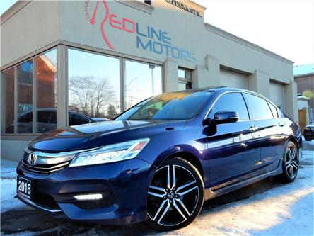 2016 Honda Accord Touring V6 (Stk: 1HGCR3) in Kitchener - Image 1 of 25