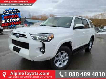 2021 Toyota 4Runner Base (Stk: 5891676) in Cranbrook - Image 1 of 25