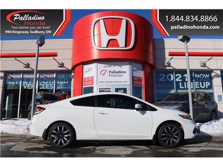 2014 Honda Civic EX-L Navi (Stk: U9881) in Sudbury - Image 1 of 37