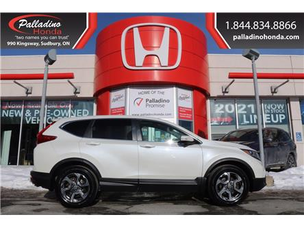 2018 Honda CR-V EX-L (Stk: U9823A) in Greater Sudbury - Image 1 of 37
