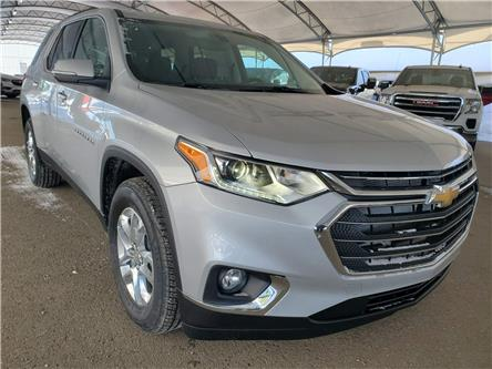 2021 Chevrolet Traverse LT Cloth (Stk: 188851) in AIRDRIE - Image 1 of 30